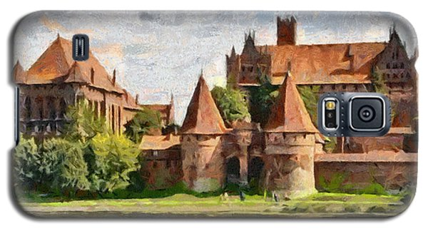 Castle Malbork Poland Galaxy S5 Case