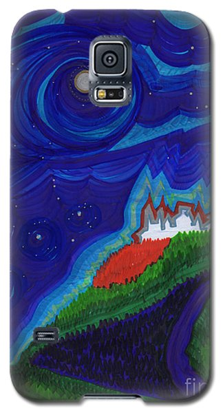 Castle On The Cliff By Jrr Galaxy S5 Case