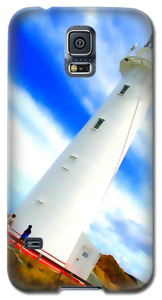 Castle Point Lighthouse Galaxy S5 Case