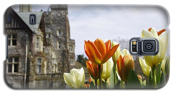 Castle Tulips Galaxy S5 Case