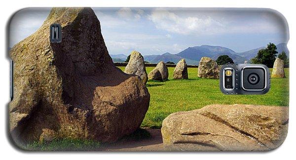 Castlerigg England Galaxy S5 Case by Graham Hawcroft pixsellpix