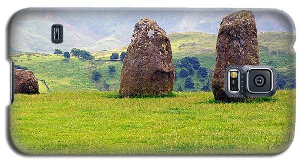 Castlerigg Keswick England Galaxy S5 Case by Graham Hawcroft pixsellpix
