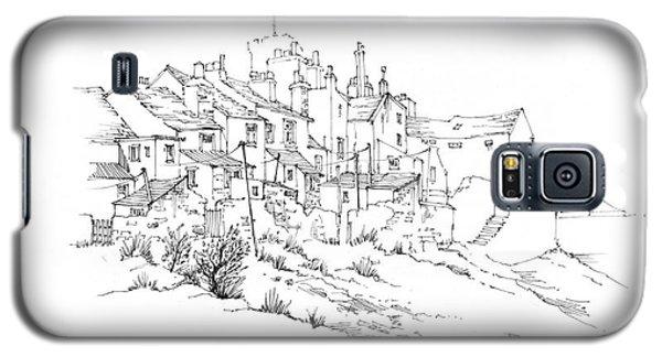 Castletown Coastal Houses Galaxy S5 Case