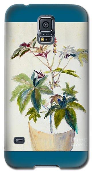 Castor Bean Plant Galaxy S5 Case