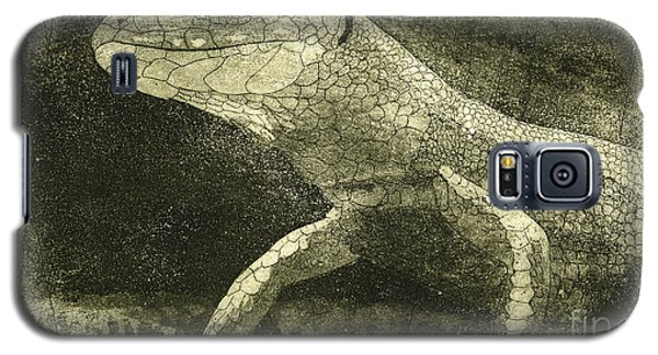 casual meeting Reptile Viviparous Lizard  Lacerta vivipara Galaxy S5 Case