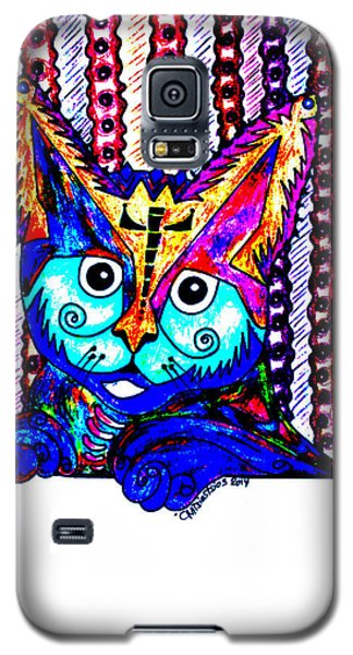 Cat 1 Galaxy S5 Case