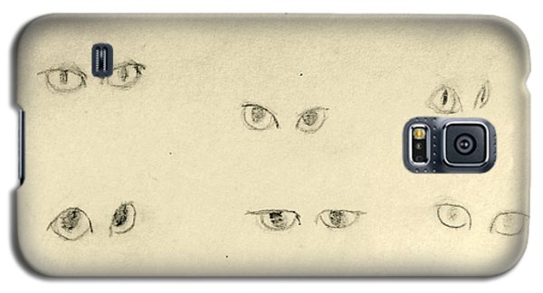 Cat Eyes -2 Galaxy S5 Case