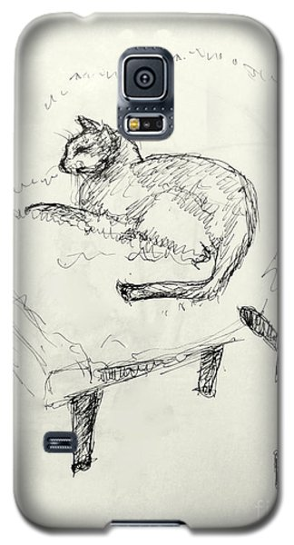 Cat Heaven Galaxy S5 Case