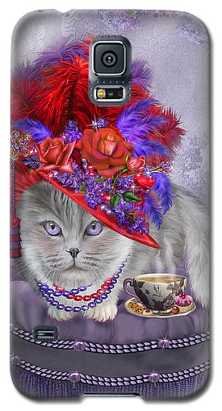 Cat In The Red Hat Galaxy S5 Case