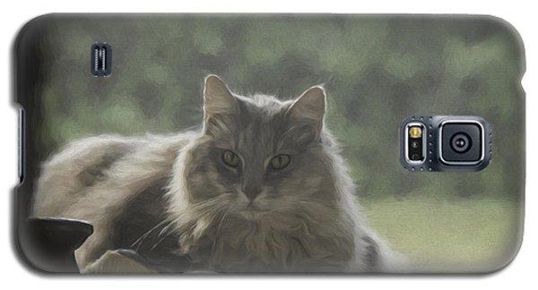 Cat N Saddle Galaxy S5 Case