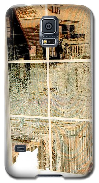 Galaxy S5 Case featuring the photograph Cat Perspective by Jacqueline McReynolds