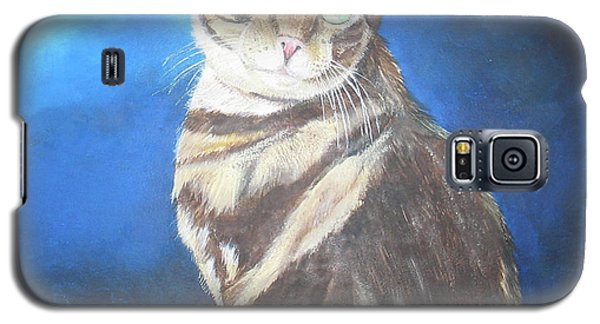 Cat Profile Galaxy S5 Case