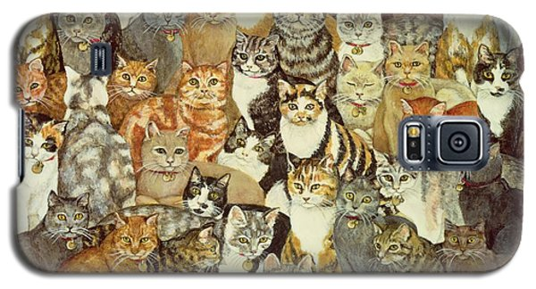 Cat Spread Galaxy S5 Case