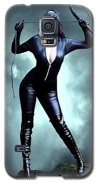 Feline Fatale On The Edge Galaxy S5 Case