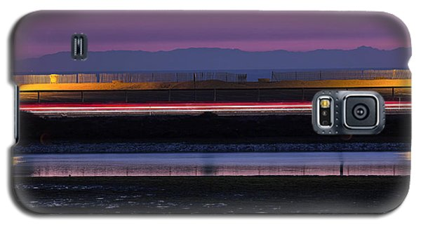 Catalina Bolsa Chica Pch Light Trails And The Wetlands By Denise Dube Galaxy S5 Case