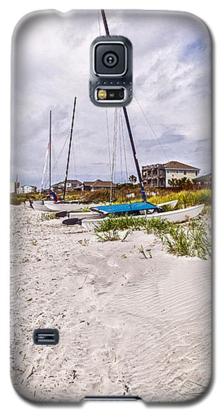 Galaxy S5 Case featuring the photograph Catamaran by Sennie Pierson