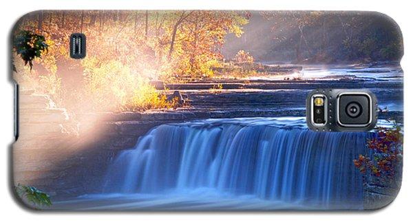Cataract Falls Indiana Galaxy S5 Case by Randall Branham