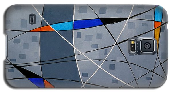 Galaxy S5 Case featuring the painting Catch by Jo Appleby