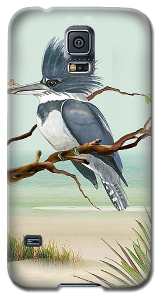 Galaxy S5 Case featuring the painting Catch Of The Day by Anne Beverley-Stamps