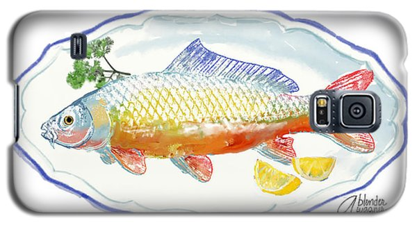 Galaxy S5 Case featuring the digital art Catch Of The Day by Arline Wagner