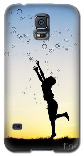 Catching Bubbles Galaxy S5 Case