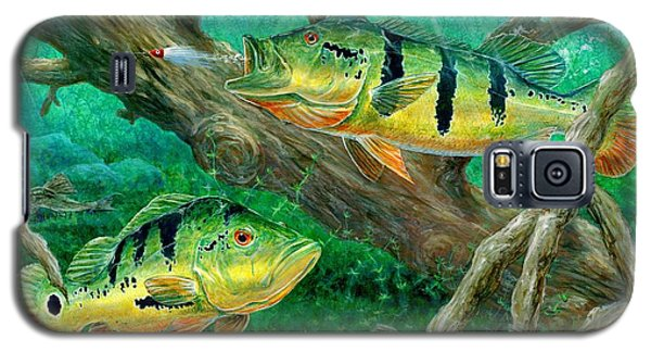 Catching Peacock Bass - Pavon Galaxy S5 Case