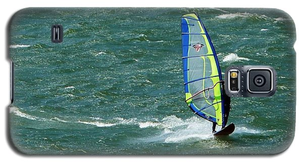 Catching Wind And Surf Galaxy S5 Case by Susan Garren