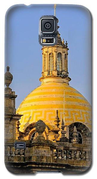 Catedral De Guadalajara Galaxy S5 Case by David Perry Lawrence