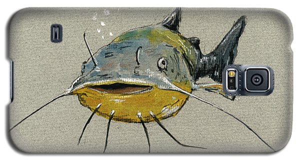 Catfish Galaxy S5 Case by Juan  Bosco