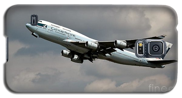 Cathay Pacific B-747-400 Galaxy S5 Case