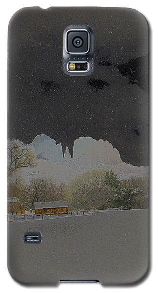 Galaxy S5 Case featuring the photograph Cathedral Glistens by Tom Kelly