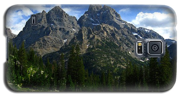 Galaxy S5 Case featuring the photograph Cathedral Group From The Northwest by Raymond Salani III