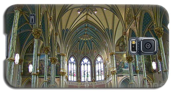 Cathedral Of Saint John The Baptist Galaxy S5 Case by D Wallace