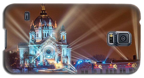 Cathedral Of St Paul Ready For Red Bull Crashed Ice Galaxy S5 Case by Paul Freidlund