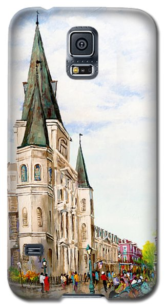 Cathedral Plaza - Jackson Square, French Quarter Galaxy S5 Case