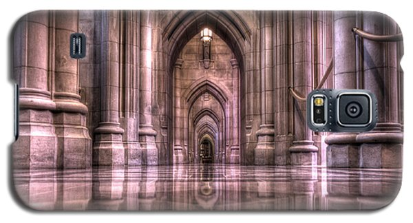 Cathedral Reflections Galaxy S5 Case by Shelley Neff