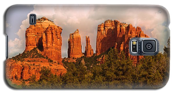 Cathedral Rock Sunset Galaxy S5 Case by Bob and Nadine Johnston