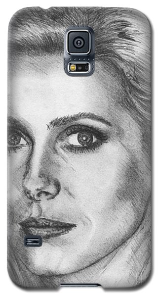 Catherine Deneuve In 1976 Galaxy S5 Case by J McCombie