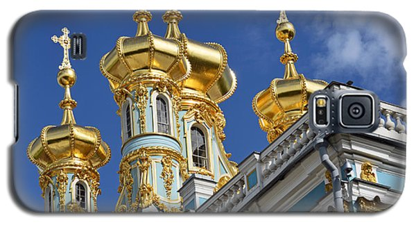 Galaxy S5 Case featuring the photograph Catherine's Palace by Harvey Barrison