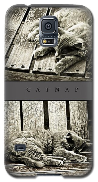 Catnap Galaxy S5 Case by Greg Jackson