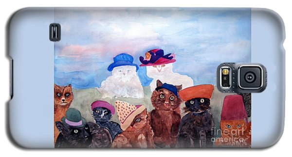 Cats In Hats Galaxy S5 Case