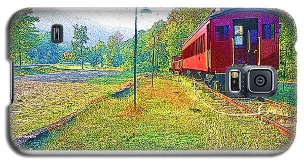 Catskill Mountain Railroad In Autumn Galaxy S5 Case