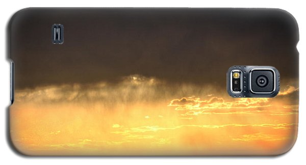 Cattle Fence At Sunset Galaxy S5 Case