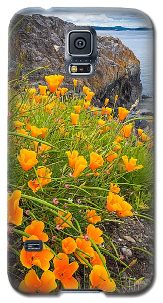 Cattle Point Poppies Galaxy S5 Case