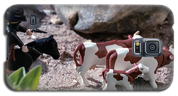 Cattle Rustler Galaxy S5 Case by Caitlyn  Grasso