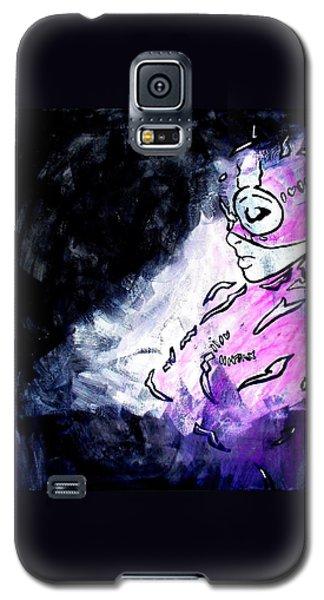 Catwoman Purple Suit Galaxy S5 Case