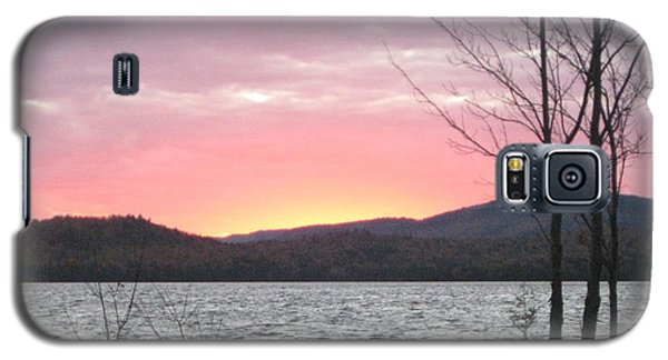 Caucomgomoc Lake Sunset In Maine Galaxy S5 Case