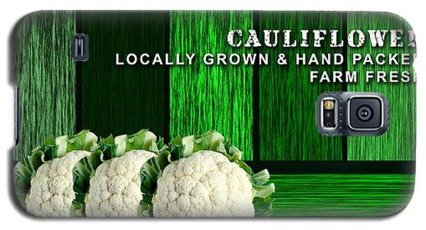 Cauliflower Farm Galaxy S5 Case