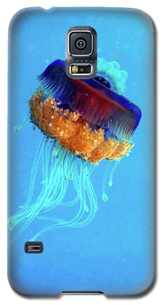 Cauliflower Jellyfish Galaxy S5 Case by Louise Murray