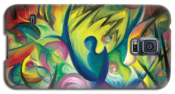 Galaxy S5 Case featuring the painting Causing A Scene by Tiffany Davis-Rustam